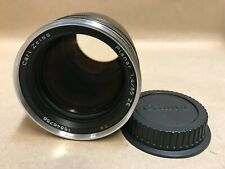 Carl ZEISS 85mm F/1.4 Planar ZE T* (Manual Focus) Lens For Canon EF Mount ++READ