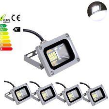 5 X 10W Cool White Flood Light LED Spot Light Outdoor Garden Lamp DC12V