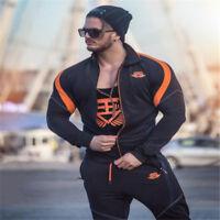 Men's Body Workout Sporting Pants & hoodies Men Muscle Fitness Gyms Sweatpants