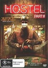 HOSTEL PART III (3) : NEW DVD