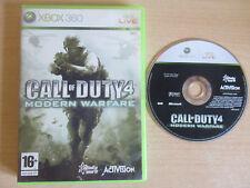 Call of Duty 4: Modern Warfare - (XBOX 360) (muy Buen Estado)