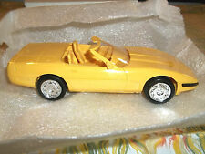 1995 Amt/Ertl Corvette Convertible Yellow Promo Nib
