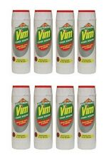8 X Vim Scourer 500g Traditional Scouring Powder Cleaner Kitchens And Bathrooms-