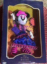 MINNIE MOUSE CATRINA DISNEY DOLL DAY OF THE DEAD COLLECTORS EDITION NIB