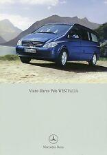 Prospekt Mercedes Benz Viano Marco Polo Westfalia 9 06 2006 Wohnmobil Reisemobil
