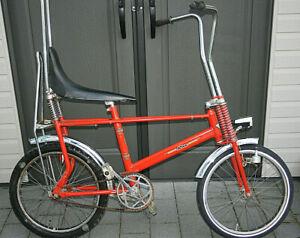 Orig.RIXE 20Zoll Bonanza Fahrrad Lowrider Rot Restaurationsobjekt Sammler RAR