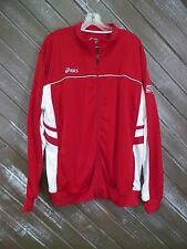One America Mini Marathon Asics Jacket Running Athletic Men's Red Size XL