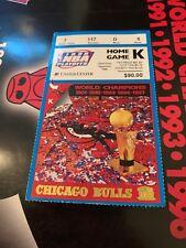 1998 Michael Jordan NBA FINALS TICKET Game 3 Chicago Bulls Free Shipping