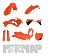 FULL KIT PLASTICHE ACERBIS KTM SX 125 144 150 2015 SX 250 2015 2016 ARANCIO