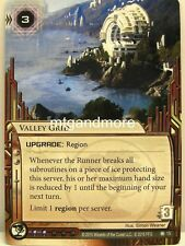 Android Netrunner LCG - 1x Valley Grid  #015 - The Valley
