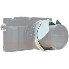JJC Silver Auto Lens Cap for LEICA D-LUX (Typ 109) Camera replaces DMW-LFAC1