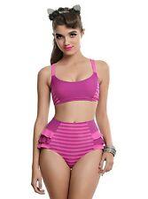 Disney Alice In Wonderland Cheshire Cat Swim Suit Swimsuit Bikini Bottom SMALL