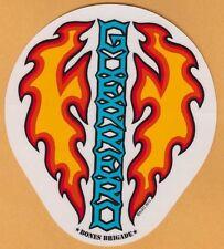 Powell Peralta Bones Brigade® Guerrero Dagger Skateboard Sticker