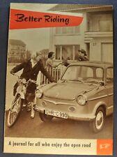 1958 NSU Catalog Sales Brochure Motorcycle Scooter Prinz Nice Original 58