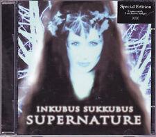INKUBUS SUKKUBUS: SUPERNATURE - CD Album - SPECIAL EDITION with 2 Badges! - VGC.