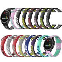 Silicone Watch Band Wristband Bracelet Strap for Garmin Vivoactive 3 Vivomove HR
