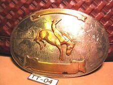 GREAT Old Trophy 2 Banner Irvine Jachens Cowboy Bareback Horse Rider MAKE OFFER