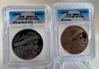 LuckyBit Bit Coin Set 23/100 Made- Peeled & Unfunded-Like Casascius BTCC Titan