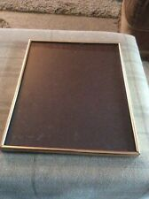 "BEEN USED 8"" x 10"" GOLD PLATED THIN EDGE UNBRANDED PHOTOGRAPH FRAME"