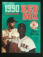 BOSTON RED SOX Scorebook Magazine - 1990 - 1st Edition