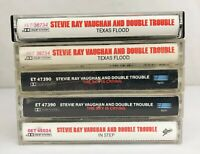 Lot of 5 Stevie Ray Vaughan and Double Trouble Cassette Tapes