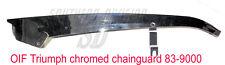 83-9000 chainguard chrom OIF triumph 1971- kettenschutz verchromt T140 TR7