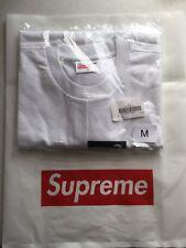 Supreme X Comme Des Garcons SHIRT Split Box Logo Tee FW18 size Medium DS