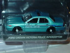 Greenlight TWILIGHT FORD CROWN VIC VICTORIA POLICE CAR HOLLYWOOD SERIES -Aqua