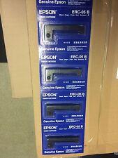 Original Epson ERC 05 Farbbänder schwarz  5 Stück
