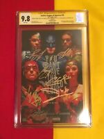Justice League Of America #15 CGC 9.8 6x Sign By Gal Gadot,NYCC, Batman Superman