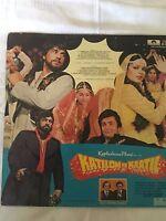 Katilon Ke Kaatil 1981 Dharmendr Kalyanji-Anandji Bollywood Rare LP Vinyl Record