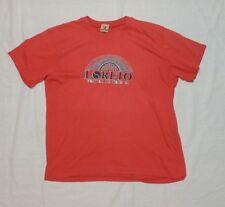 Loreto Festival De Tenis 84 Vintage 80s T Shirt Red Tee Size 44