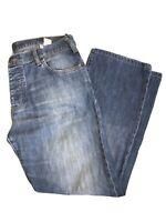 Armani Jeans Mens W36 L30 Colour Denim Made In Italy Vintage Indigo Series No. 8