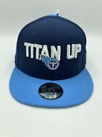 Tennessee Titans NFL New Era 9FIFTY Adjustable Snapback Hat Cap Blue Youth Size