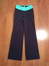 Womens Lucy Powermax Athletic Pants Gray With Green Size S