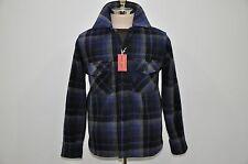 The Real McCoy's Joe McCoy 100% Heavy Wool Plaid CPO Shirt M