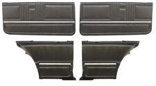 1967 Camaro Door panel kit  Pre-assembled  OE Black