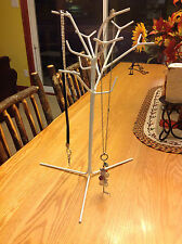 Tall Jewelry Tree hand Made Unique sturdy display