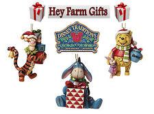 Disney Traditions Christmas Tree Decoration Pooh, Eeyore & Tigger