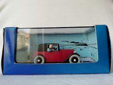voiture miniature de collection tintin