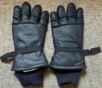 USGI Hawkeye Military Intermediate Cold Weather Leather Gloves SIZE M