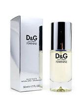 Dolce & Gabbana Feminine 1.7oz 50ml Women's Eau de Toilette Spray New and Sealed