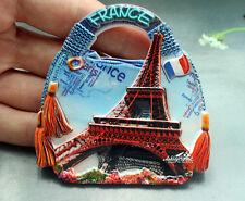 Frankreich Paris Eiffelturm Reiseandenken 3D Polyresin Kühlschrankmagnet Magnet