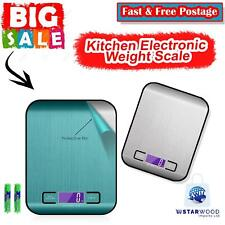 5KG Class Digital LCD Electronic Kitchen Cooking Food Weighing Scales Irish Sell