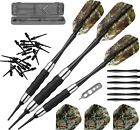 Fat Cat Realtree Hardwoods HD Camo Soft Tip Darts with Storage/Travel Case, 16 G