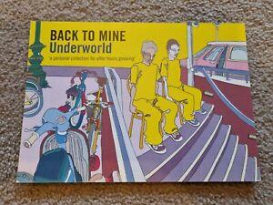 Underworld Back To Mine Postcard Rave Flyer Collectable Ephemera