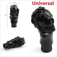 1 Set Car Gear Shift Knob Skull Shifter Lever Head 10cm Black Metal Universal