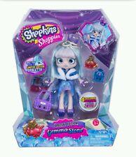 Shopkins NEW Special Edition Shoppies Doll GEMMA STONE w/4 Exclusive Shopkins