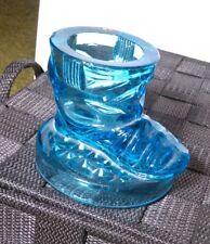 Aqua Blue Glass Boot Lid