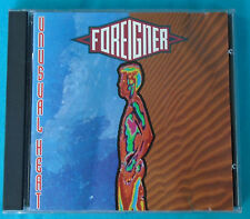 """Unusual Heat by Foreigner (1991 CD, Atlantic A2 82299) with """"Lowdown and Dirty"""""""